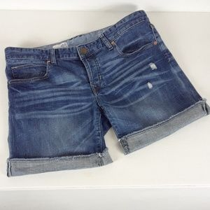 Gap Boyfriend Button Fly Jean Shorts Size 28/6